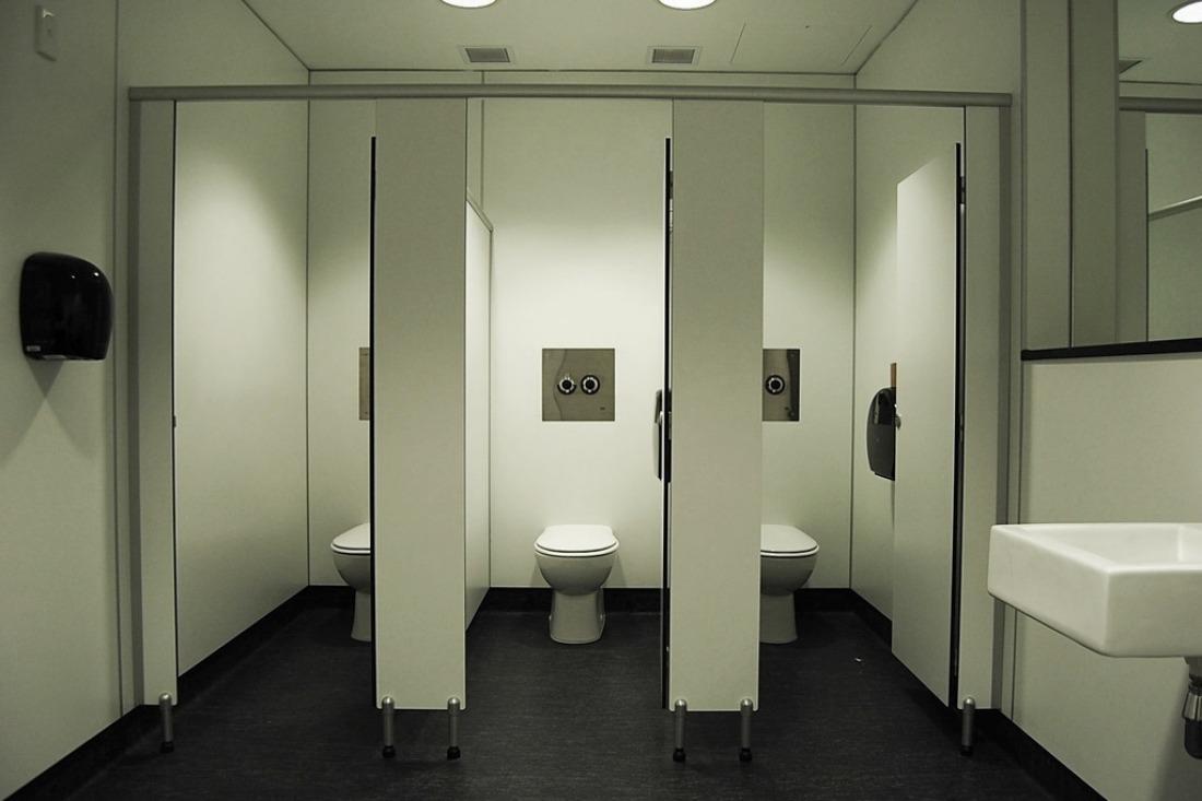 Перегородки для туалетних кабін